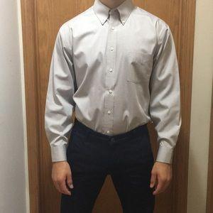 Stafford gray dress shirt